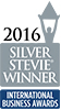2016 Silver Stevie Winner International Business Awards logo