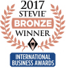 2017 Stevie Bronze Winner International Business Awards logo