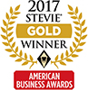 2017 Stevie Gold Winner American Business Awards logo