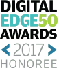 Digital Edge50 Awards 2017 Honoree logo