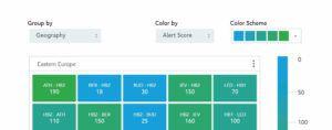 Airline Revenue Management Software Screen