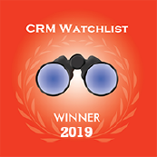 CRM Watchlist Award winner 2019